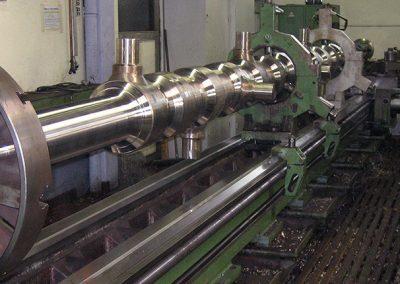 Schredder ø 600 x 7500 mm