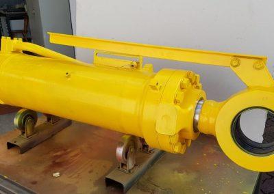 Hydraulikzylinder nach Reparatur