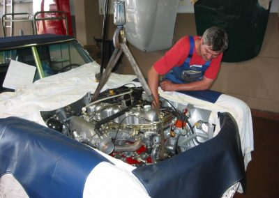 Einbau eines Motors