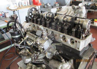 Motor vor dem Zerlegen