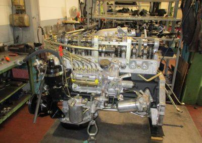 komplettrestaurierter Motor