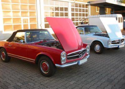 Spezialisiert-auf-Mercedes-Pagode-Fahrzeuge