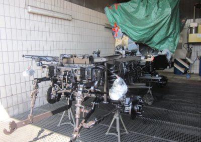 Fahrgestell Aufbereitung