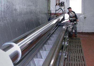 Kolbenstangen ø 200 x 6850 mm