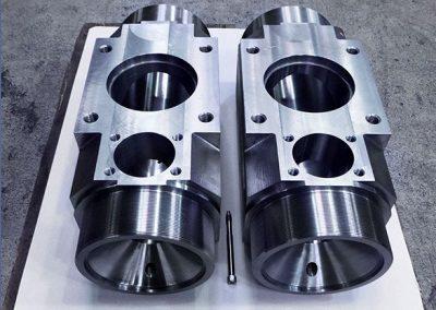 Zylinderblock 250 x 250 x 620 mm