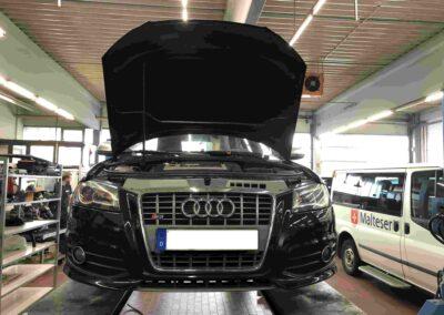 Inspektion Audi S3