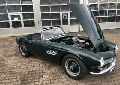 BMW 507 Oldtimer bei Motoren Sauer