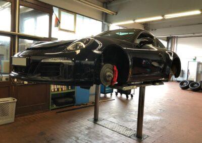 Inspektion und Reifenwechsel Porsche 911